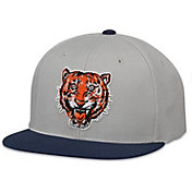 American Needle Men's Detroit Tigers Grey/Navy The Big Show Hat