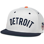 American Needle Men's Detroit Tigers White United Hat