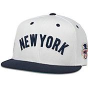 American Needle Men's New York Yankees White United Hat