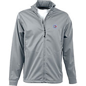 Antigua Men's Toronto Blue Jays Full-Zip Silver Golf Jacket