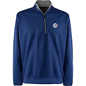 Antigua Men's Toronto Blue Jays Leader Royal Quarter-Zip Pullover