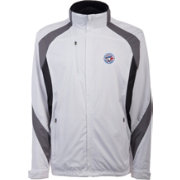 Antigua Men's Toronto Blue Jays Tempest White Full-Zip Jacket