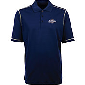 Antigua Men's Milwaukee Brewers Icon Navy Performance Polo