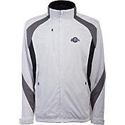 Antigua Men's Milwaukee Brewers Tempest White Full-Zip Jacket