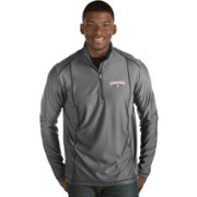 Antigua Men's 2016 World Series Champions Chicago Cubs Grey Tempo Quarter-Zip Pullover