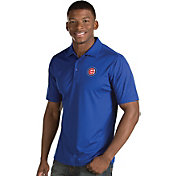 Antigua Men's Chicago Cubs Royal Inspire Performance Polo