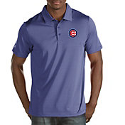 Antigua Men's Chicago Cubs Royal Quest Performance Polo