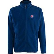 Antigua Men's Chicago Cubs Full-Zip Royal Ice Jacket