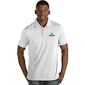 Antigua Men's 2016 World Series Champions Chicago Cubs White Quest Performance Polo