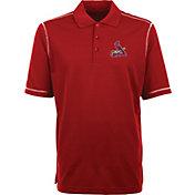 Antigua Men's St. Louis Cardinals Red Icon Polo