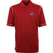 Antigua Men's St. Louis Cardinals Red Icon Polo