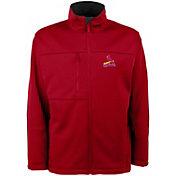 Antigua Men's St. Louis Cardinals Red Traverse Fleece Jacket