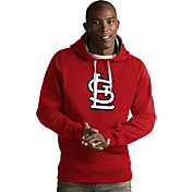 Antigua Men's St. Louis Cardinals Red Victory Pullover