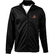 Antigua Men's Arizona Diamondbacks Full-Zip Black Golf Jacket