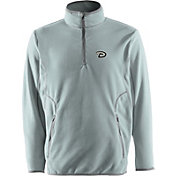Antigua Men's Arizona Diamondbacks Quarter-Zip Silver Ice Pullover