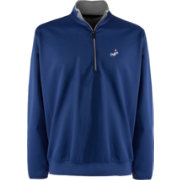 Antigua Men's Los Angeles Dodgers Leader Royal Quarter-Zip Pullover