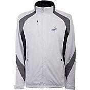 Antigua Men's Los Angeles Dodgers Tempest White Full-Zip Jacket