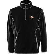 Antigua Men's San Francisco Giants Quarter-Zip Black Ice Pullover