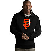 Antigua Men's San Francisco Giants Black Victory Pullover