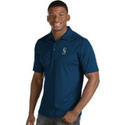 Antigua Men's Seattle Mariners Navy Inspire Performance Polo