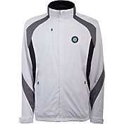 Antigua Men's Seattle Mariners Tempest White Full-Zip Jacket