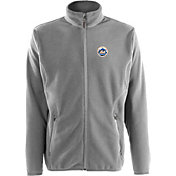 Antigua Men's New York Mets Full-Zip Silver Ice Jacket