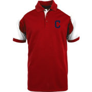 Antigua Men's Cleveland Indians Century Red/White Polo