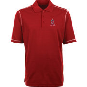 Antigua Men's Los Angeles Angels Icon Red Performance Polo