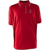 Antigua Men's Los Angeles Angels Red Elite Polo