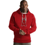 Antigua Men's Los Angeles Angels Red Victory Pullover