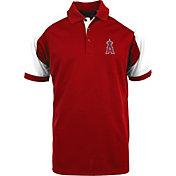 Antigua Men's Los Angeles Angels Century Red/White Polo