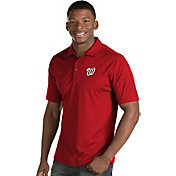 Antigua Men's Washington Nationals Red Inspire Performance Polo