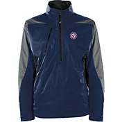 Antigua Men's Washington Nationals Pullover Navy Discover Jacket