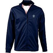 Antigua Men's San Diego Padres Full-Zip Navy Golf Jacket