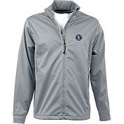 Antigua Men's San Diego Padres Full-Zip Silver Golf Jacket