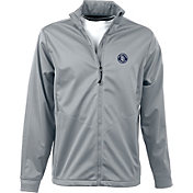 Antigua Men's San Diego Padres Full-Zip Silver Golf Jacket