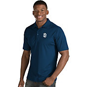 Antigua Men's San Diego Padres Navy Inspire Performance Polo