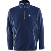 Antigua Men's San Diego Padres Quarter-Zip Navy Ice Pullover