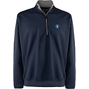 Antigua Men's San Diego Padres Leader Navy Quarter-Zip Pullover