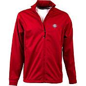Antigua Men's Philadelphia Phillies Full-Zip Red Golf Jacket