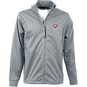 Antigua Men's Philadelphia Phillies Full-Zip Silver Golf Jacket