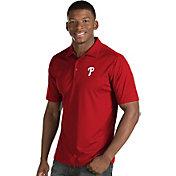 Antigua Men's Philadelphia Phillies Red Inspire Performance Polo