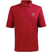 Antigua Men's Philadelphia Phillies Xtra-Lite Patriotic Logo Red Pique Performance Polo