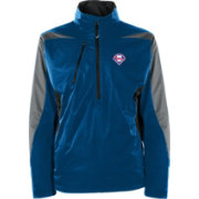 Antigua Men's Philadelphia Phillies Pullover Royal Discover Jacket