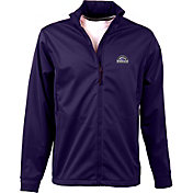 Antigua Men's Colorado Rockies Full-Zip Purple Golf Jacket