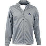 Antigua Men's Colorado Rockies Full-Zip Silver Golf Jacket