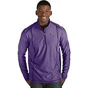 Antigua Men's Colorado Rockies Purple Tempo Quarter-Zip Pullover