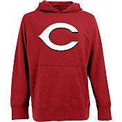 Antigua Men's Cincinnati Reds Signature Red Hoodie