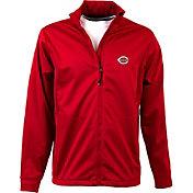 Antigua Men's Cincinnati Reds Full-Zip Red Golf Jacket