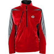 Antigua Men's Cincinnati Reds Pullover Red Discover Jacket